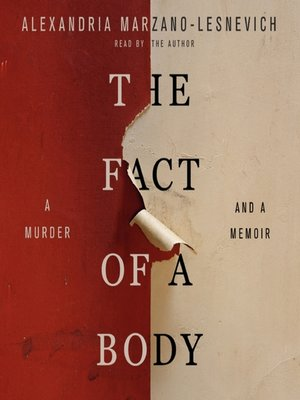 cover image of The Fact of a Body